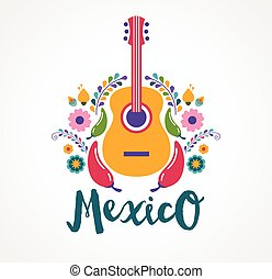 Música y alimentos de México