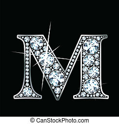"""""""m"""", diamante"""