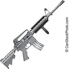 m4, carbine