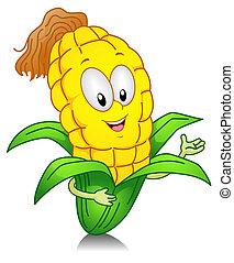 maíz dulce, gesto