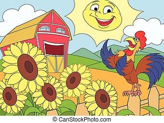 Mañana de verano en la granja 2