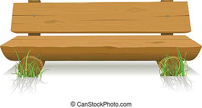 madera, banco