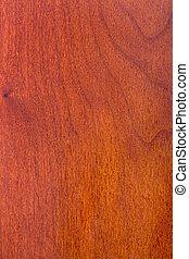 Madera de cereza laminada barnizada