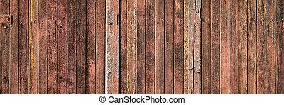 madera, rústico, resistido, plano de fondo, granero