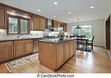 madera, remodeled, cocina