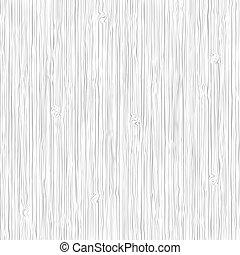 madera, vector, textura, fondo blanco