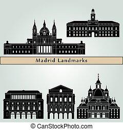 Madrid V2 puntos de referencia