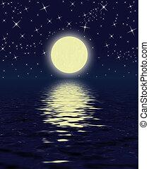 magia, noche
