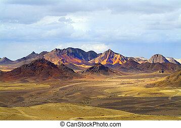 magnífico, paisaje