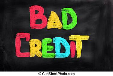 Mal concepto de crédito