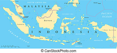 malasia, indonesia, político, ma