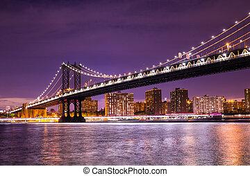 Manhattan Bridge Nueva York