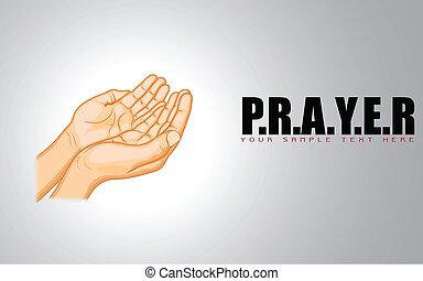 Mano de rezar