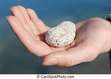 mano, piedra