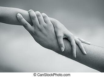 mano que ayuda