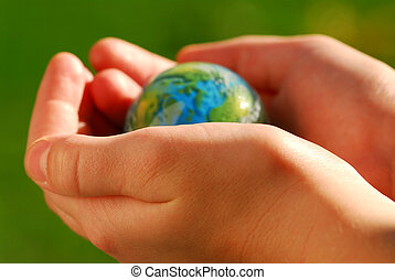 Manos al globo