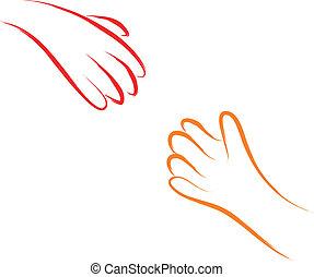 manos auxiliares