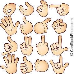 Manos y gestos