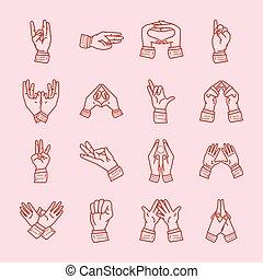 manos, yoga, mudra