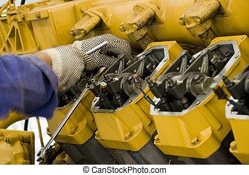 Mantenimiento de motores grande II