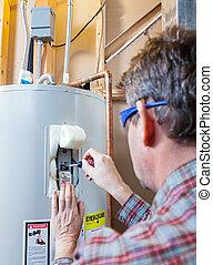 Mantenimiento del calentador de agua