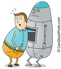 Mantenimiento robot