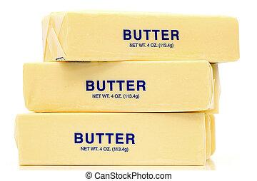mantequilla, cuartos