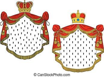 Mantles Reales Heraldos