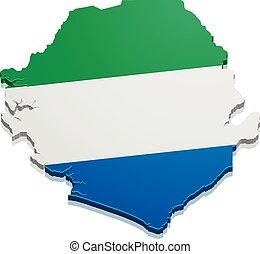 Map Sierra Leona
