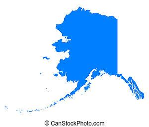 mapa, alaska