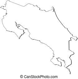 Mapa, Costa Rica