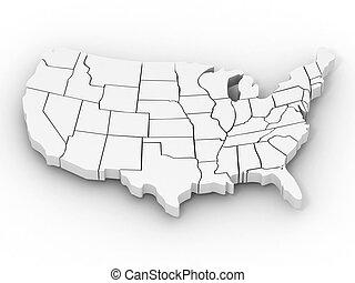 Mapa de EE.UU