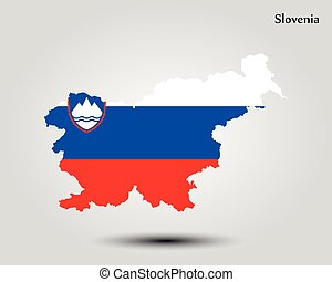 Mapa de eslovenia