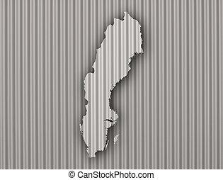 Mapa de sweden