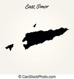 Mapa de timor este