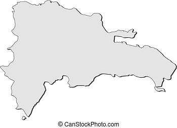 Mapa - República Dominicana