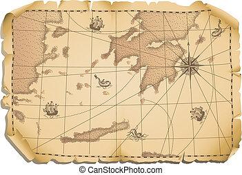 mapa, viejo