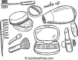 Maquillaje garabato