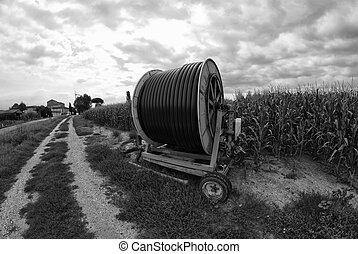 maquinaria agrícola, Italia