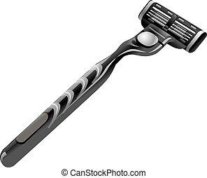 maquinilla de afeitar, viruta