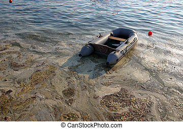 mar, contaminado