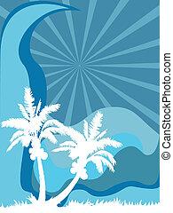 Mar de palmera