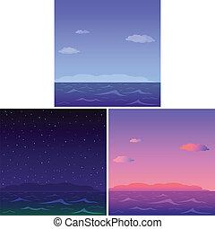Mar, listo