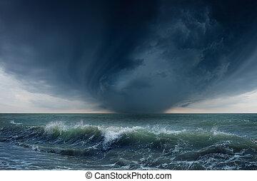 Mar tormentoso