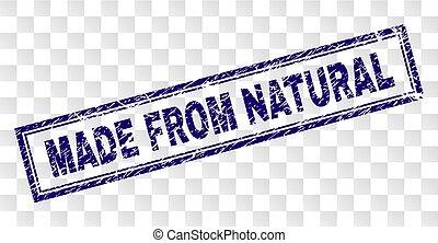 Marca de rectángulo natural