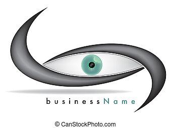 marca, ojo