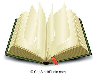 marcador, echar al aire, páginas