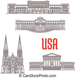 Marcas de arquitectura de EE.UU