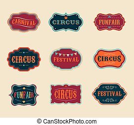 Marcas de circo antiguas