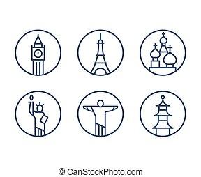 Marcas de iconos establecidos